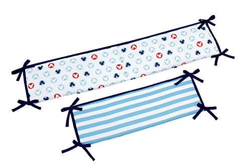 Disney Porta Crib Padded Bumper, Mickey Mouse