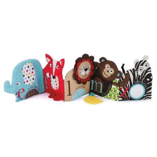 Skip Hop Alphabet Zoo Soft Activity Book Children, Kids, Game front-922538