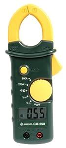 Greenlee CM-600 AC Clamp-On Meter