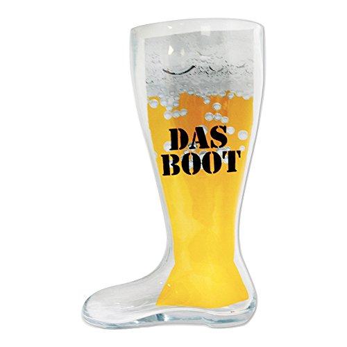 Mancave 'Das Boot' Glass Beer Boot, 2-Liter