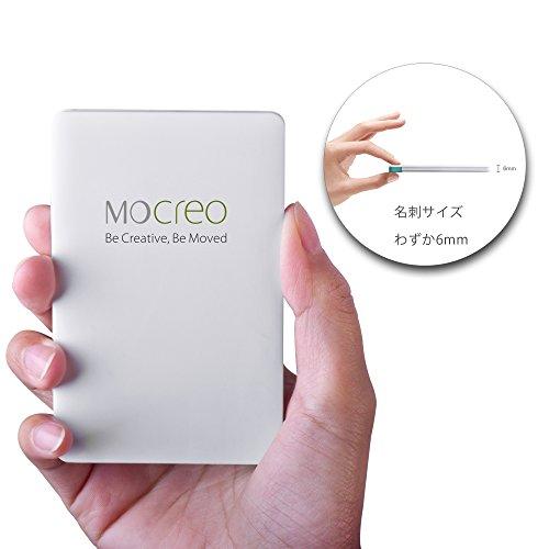 MOCREO® モバイルバッテリー、超薄型ウルトラポータブルモバイルバッテリー