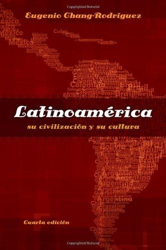 Latinoamerica: su civilizacion y su cultura (Spanish...