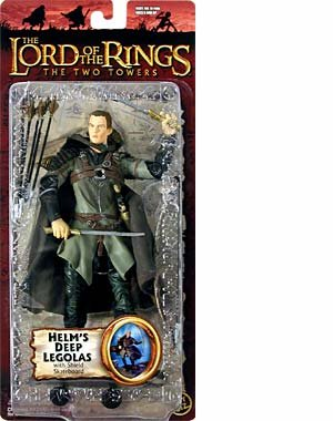 The Lord of the Rings - The Two Towers - Helm s Deep Legolas with Shield SkateboardB0000TEZ0C : image