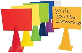 2-in-1 Message Cones set of 6-15 Inch