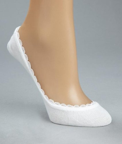 HUE Huetopia Lace Trim Foot Liner Accessory