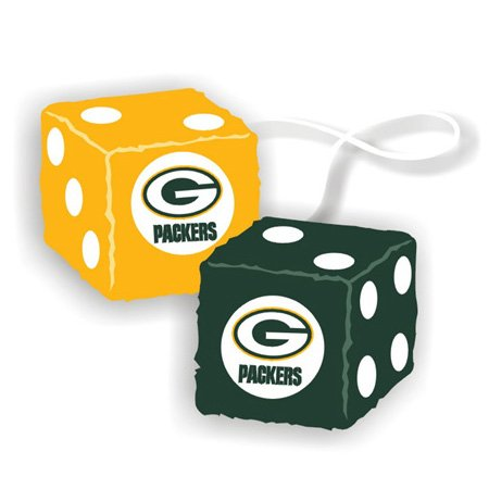 NFL Football Team Fuzzy Auto Dice