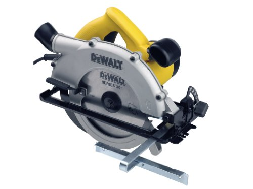 DeWalt D23620K Circular Saw with Kitbox 62 mm Cut 184 mm Blade 240 Volt