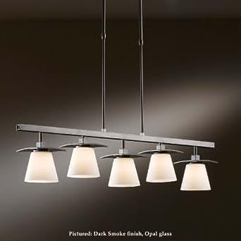 Hubbardton forge 13 6605 wren 5 lamp 40 inch long kitchen for Kitchen spotlights amazon