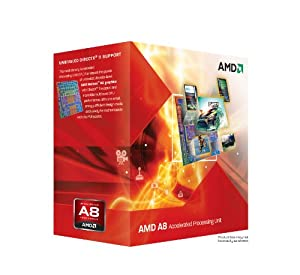 AMD A8-3850 APU Quad-Core Processor (AD3850WNGXBOX)