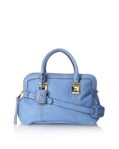 Aimee Kestenberg Women's Dakota Large Satchel, Tahiti Blue