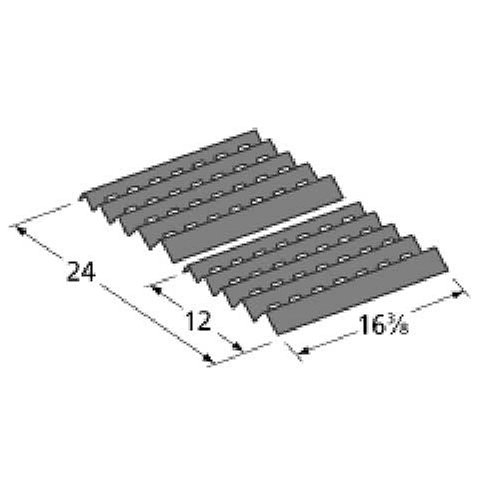Market Merchants Porcelain Steel Heat Plates For Brinkmann and Charmglow Grills (Set of 2) at Sears.com