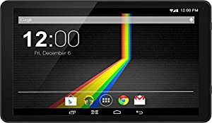 "Polaroid Q10BK 10.1"" Android 4.4 KITKAT 8GB QUAD CORE Tablet With GOOGLE PLAY"