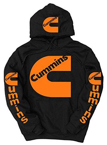 cummins-orange-logo-hoodie-xx-large-black