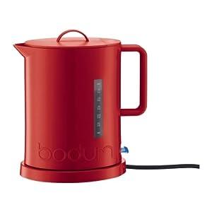 Bodum 5500-294Euro Ibis Bouilloire Électrique 1,7 L Rouge
