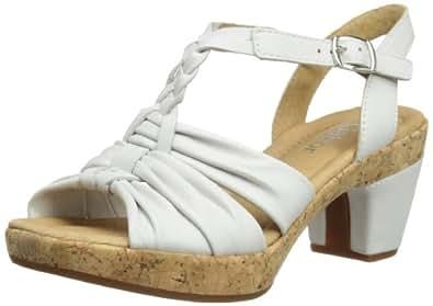 Gabor Shoes Gabor Comfort 82.737.50 Damen Sandalen, Weiß (weiss), EU 40.5 (UK 7) (US 9.5)