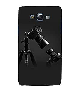 printtech Camera Design Back Case Cover for Samsung Galaxy J1 / Samsung Galaxy J1 J100F