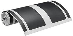 3M PRSS-001-M12-HBS 12-inch Premium Racing Stripe for Car (Matte Black)