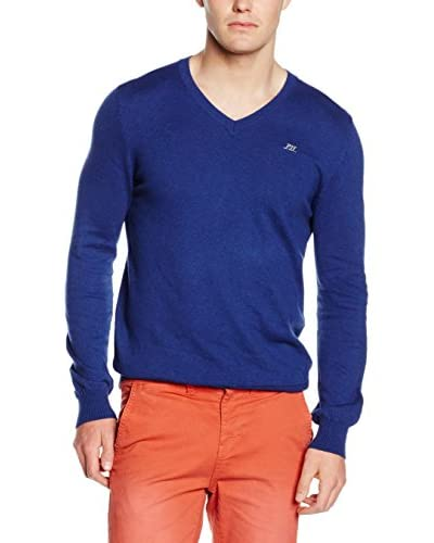 Pepe Jeans London Pullover Justin blau