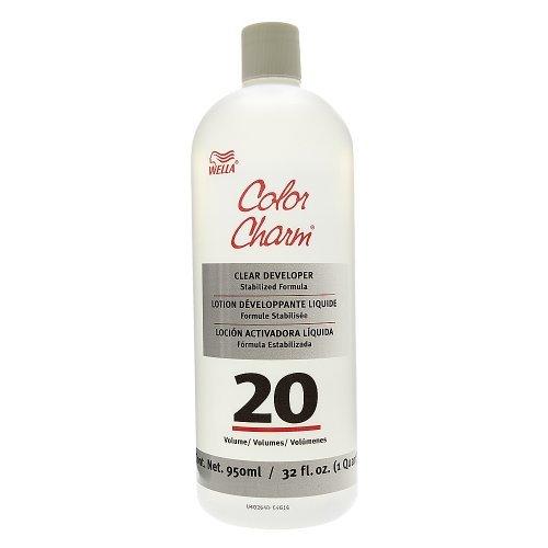 Wella Color Charm Liquid Clear Developer 20 volume 32oz (Liquid Developer compare prices)