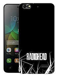 """Humor Gang Radiohead Music Printed Designer Mobile Back Cover For """"Huawei Honor 4C"""" (3D, Matte, Premium Quality Snap On Case)"""