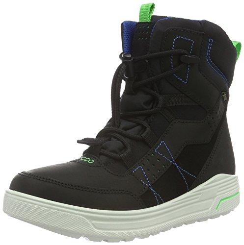 Ecco Urban Snowboard, Stivali da Neve Bambino, Nero (Black/BLACK51052), 31 EU