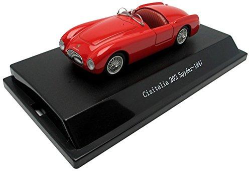 Cisitalia 202 Spyder 1947 Red 1:43 Model 51820