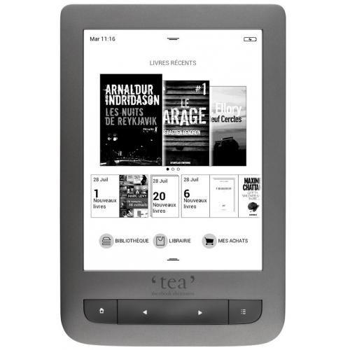 Liseuse Touch Lux 3 Grise - TEA