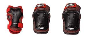 Roces Protections pour enfant Standard 3 Rouge rouge/noir Jr