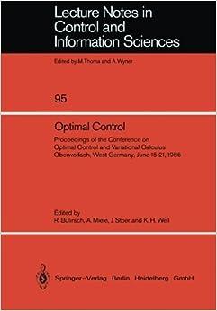 Miele, Josef Stoer, Klaus H. Well: 9783540179009: Amazon.com: Books