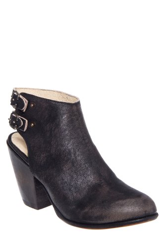 Freebird by Steven Smoke Chunky High Heel Slingback Bootie