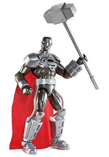 "DC Comics Total Heroes Steel 6"" Action Figure"