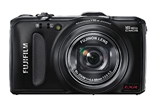 Fujifilm FinePix F600EXR 16 MP Digital Camera with CMOS Sensor and 15x Optical Zoom (Black)
