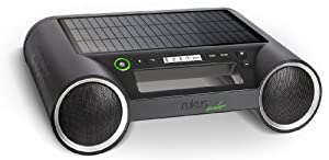 Eton Rukus Portable Bluetooth Solar Powered Wireless Speaker System, Black
