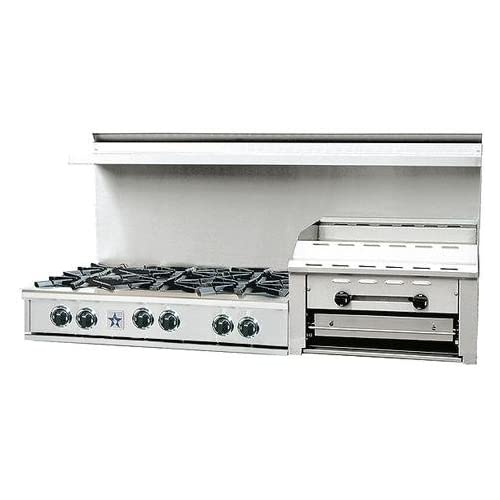 Natural Gas Griddle Cooktop