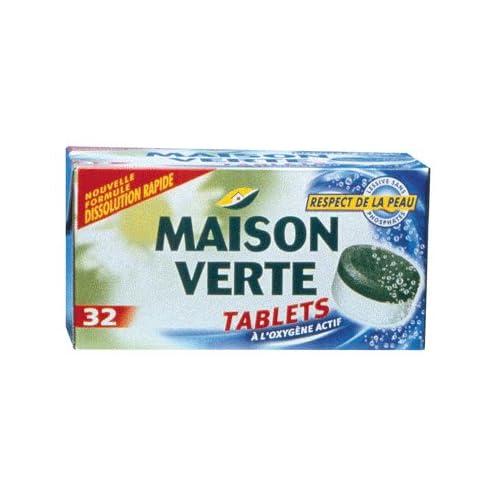 Maison verte lessive maison verte maison verte lessive eco tablets paq - Maison verte lessive ...
