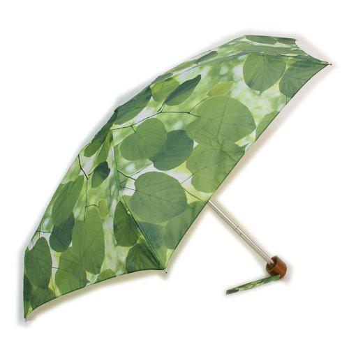 EllaDoran (エラドラン)サンライトスルーリーブス コンパクト 折り畳み傘