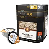 Keurig Barista Prima Vanilla Latte Vue Pack 8+8 Pack (Makes 8 Lattes)