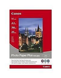 Paper Canon SG201 Photo Paper Plus Semi-glossy | 260g | A3 | 20sheets