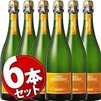 ★6本セット★ ピノ シャルドネ スプマンテ サンテロ NV 750ml