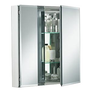 KOHLER K-CB-CLC2526FS 25-by-26-by-5-Inch Double Door Aluminum Cabinet