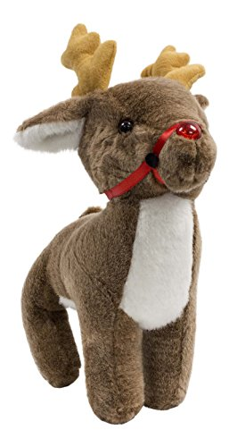 Beverly Hills Teddy Bear Company Singing Red Nose Reindeer - 1
