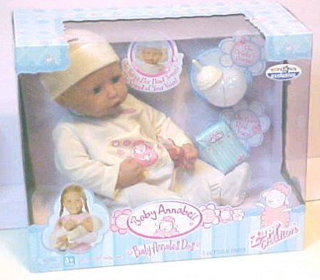 Zapf Interactive Baby Annabell Doll front-26963
