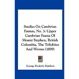 Cambrian Cambrian Fauna | RM.