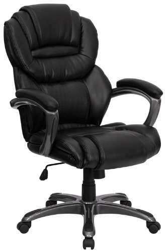 Flash furniture Black Leather Executive Office