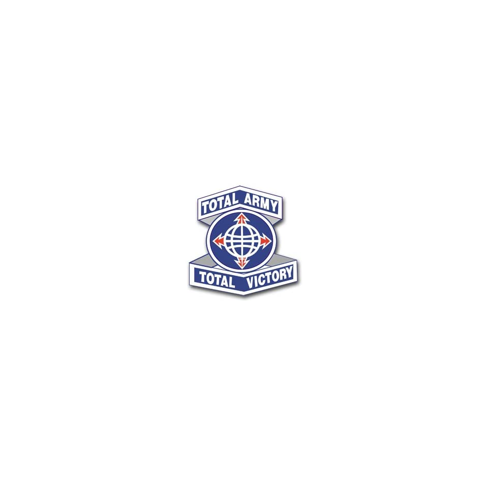 United States Army Personnel Command Unit Crest Patch Decal