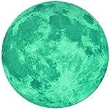 Sticker Lune phosphorescente 30cm