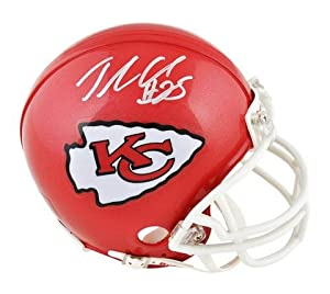 Jamaal Charles Kansas City Chiefs Autographed Riddell Mini Helmet - Memories -... by Sports Memorabilia