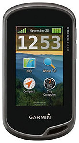 """New Garmin - Oregon 650 3"""" Gps With Built-In Bluetooth front-1032417"""
