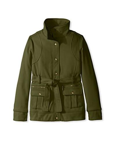 Yoki Women's Belted Fleece Jacket
