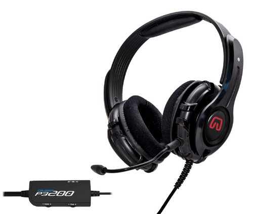 Syba P3200-I 57Mm Speaker Driver Gaming Headset And Detachable Microphone - Playstation 3 And Pc